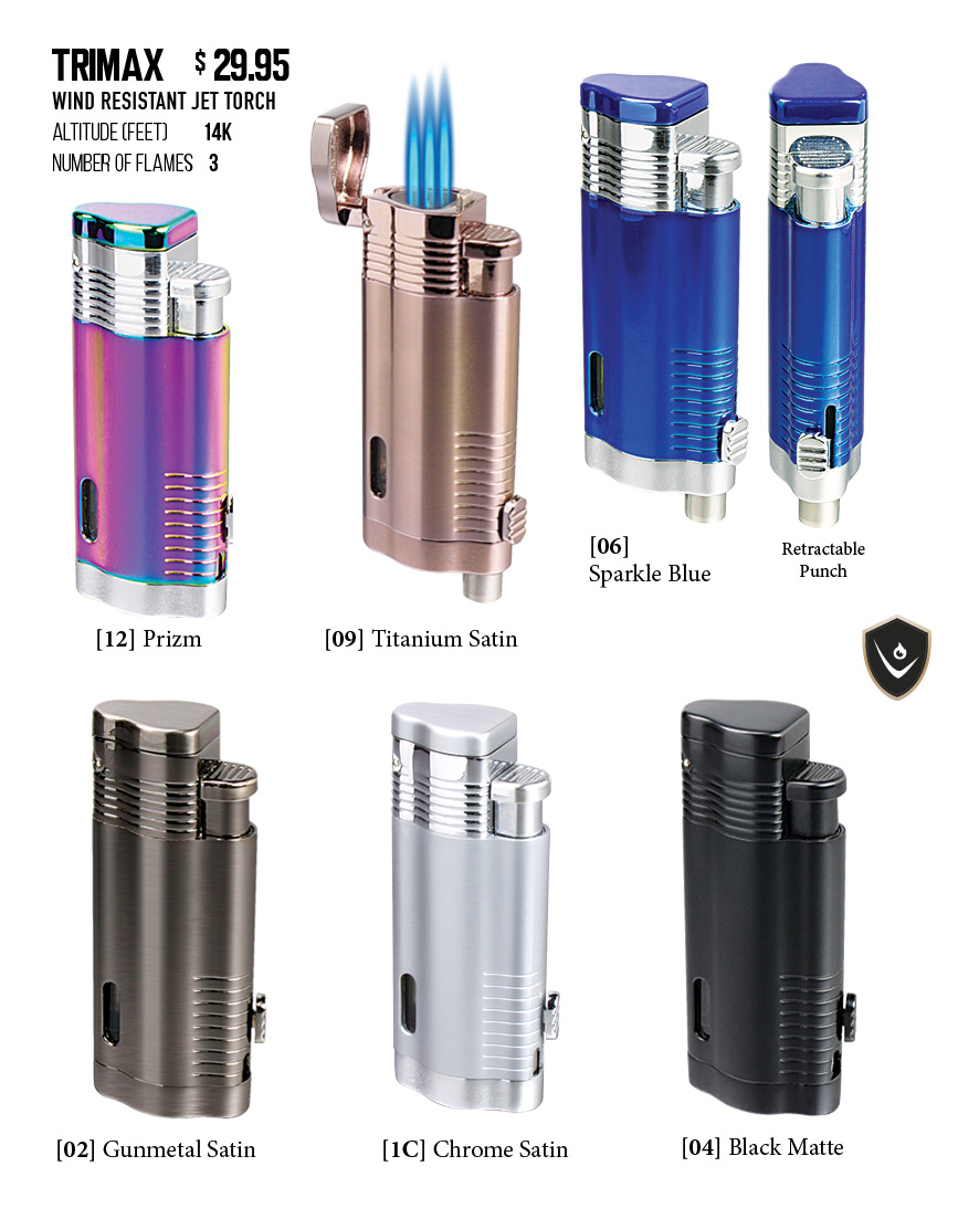 Vector® Pocket Lighters | TRIMAX | VectorKGM Official Website of ... for Torch Lighter Refill  177nar